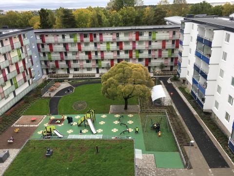 M3 Bygg erhåller stor samverkansentreprenad åt Svenska Bostäder i Husby
