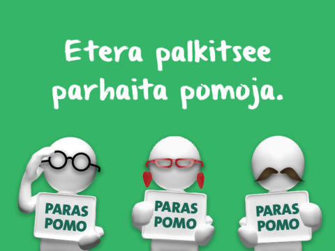 Etera palkitsee: Etelä-Suomen paras pomo