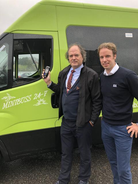 Et av Norges ledende minibusselskap installerer alkolås: Minibuss 24-7 satser på økt trafikksikkerhet
