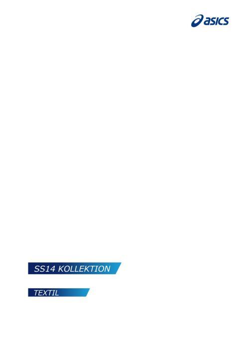 ASICS SS14 Lookbook Textil