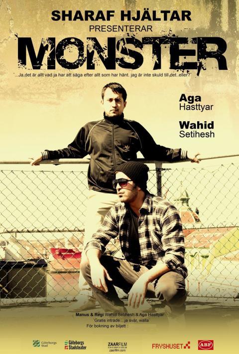 MONSTER - en teaterföreställning om ungdomar och utanförskap