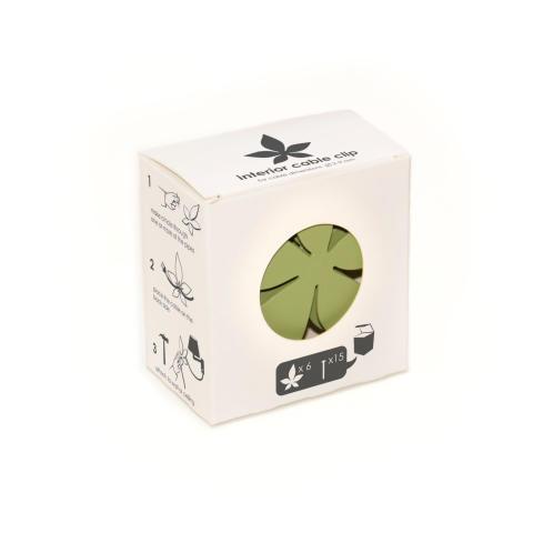 Gilla sladdar grönförpackningen