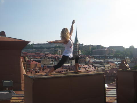 Nyhet – Yoga online med Lundainstruktören Johanna Andersson