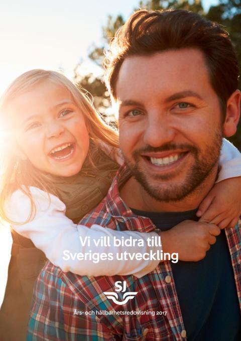 SJs Års- och hållbarhetsredovisning 2017