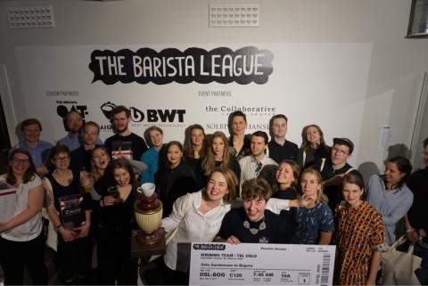 Winning Teams The Barista League : Oslo