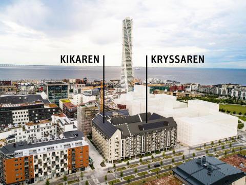 Kvarteret Upptäckaren, Riksbyggen, Malmö