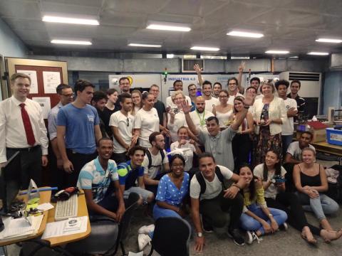 Deutsch-Kubanisches Logistikprojekt pünktlich zum Stadtjubiläum fortgeführt – Gewinnbringender Besuch der TH Wildau an der CUJAE Havanna