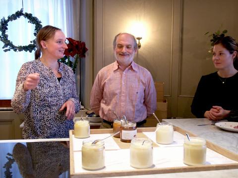 """Mästerkonditorn Corrado Assenza  vid Mathias Dahlgrens Matbord: """"My life is all about honey"""""""