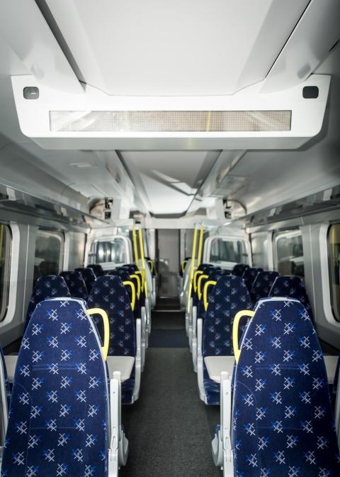 Class 385 interior