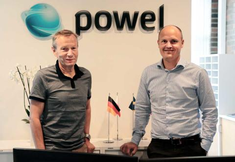 Klaus Livik sjefstrateg og Arnstein Kjesbu Executive Vice President , Powel