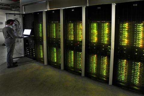 Vassaste superdatorn har flyttat till Kärnhuset