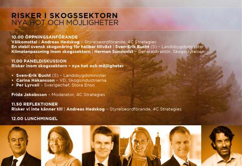 Kostnadsfritt seminarium: Nya hot och möjligheter i skogssektorn