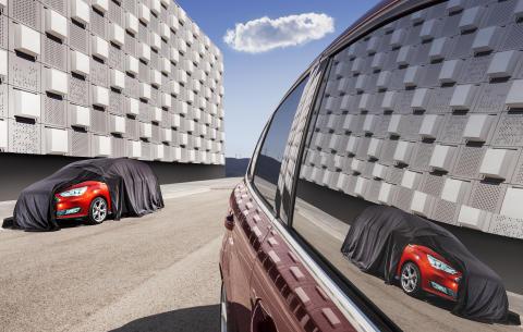 Nya Ford C-MAX avslöjas den 17 september...