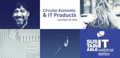Webinar: Circular Economy & IT Products