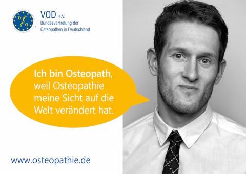 Erfolgreiche Kampagne zum Beruf Osteopath/in