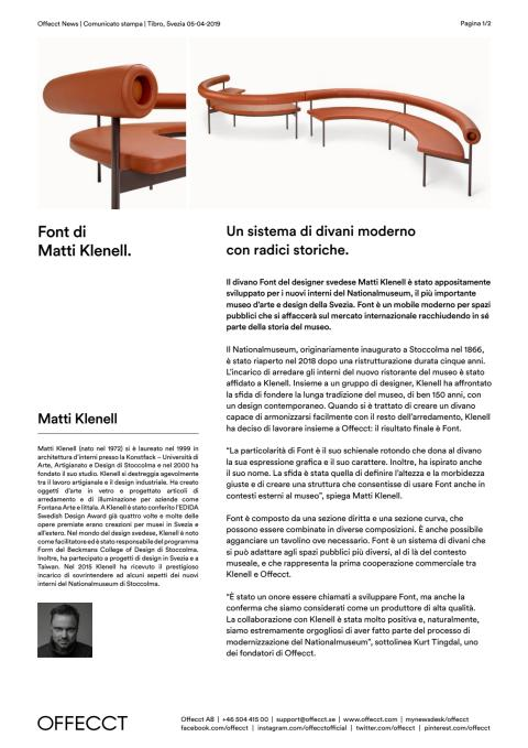 Offecct Press release Font by Matti Klenell_IT