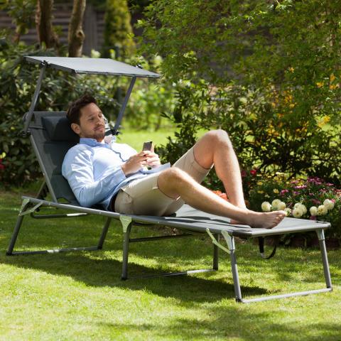 Blumfeldt Amalfi Noble Gray Sonnenliege 10030022