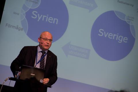 Seminarium om radikalisering, 19.3.2015. Magnus Ranstorp.