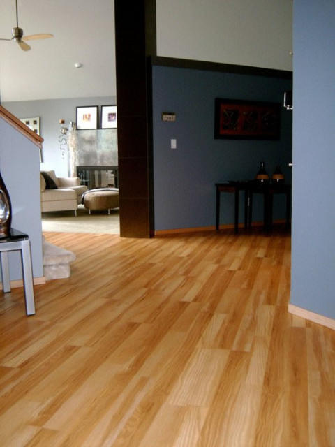 High End Resilient Flooring  ~ Rustic Maple Design