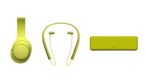 Εξερευνήστε το δυναμικό κόσμο του ήχου υψηλής ανάλυσης με την καινούργια σειρά h.ear, GO. ON. IN., της Sony