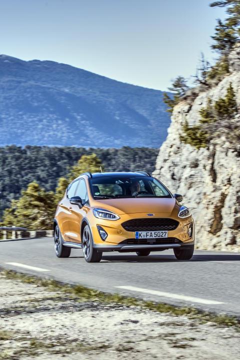 Ny Ford Fiesta Active