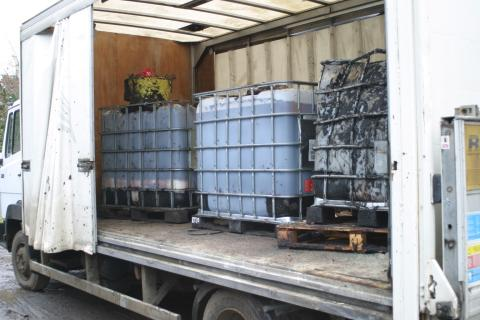 NI 01.17 - IBC waste for transport
