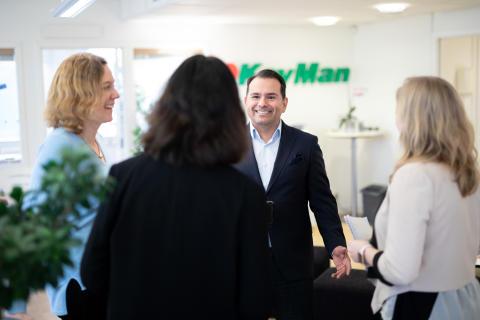 Nordens ledande hotellkedja tecknar ramavtal med KeyMan