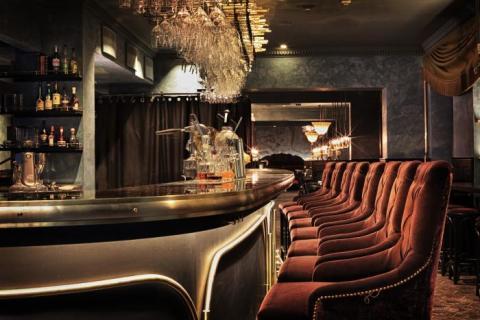 Bar at Gotthards Krog, Umeå, Sweden by Stylt