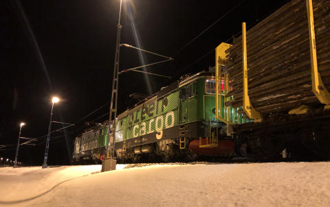 Holmen chooses Green Cargo's climate-smart trains