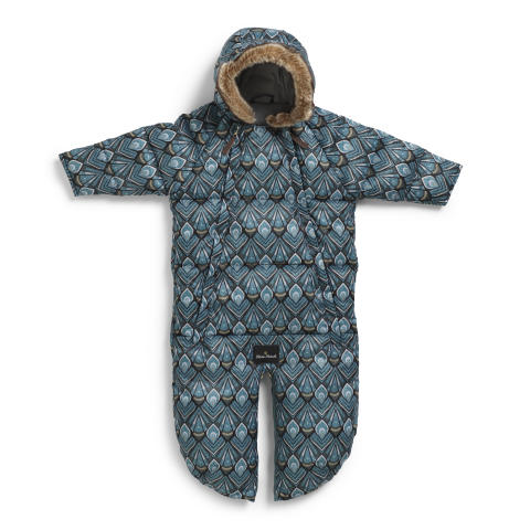 AW18 Baby overall - Everest Feathers (zip open)