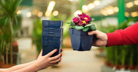 Plantagen uppmanar kunder att panta krukor