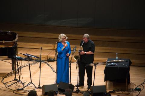 Karin Krog jubilerer. Oslo Jazzfestval 160817.