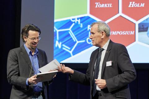 Torkil Holm Prisen 2016 til yngre kemiforsker