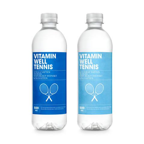 Vitamin Well släcker törsten under tennisveckorna i Båstad