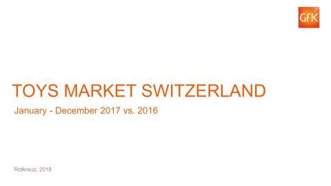 Schweizer Spielwaren-Panelmarkt GfK