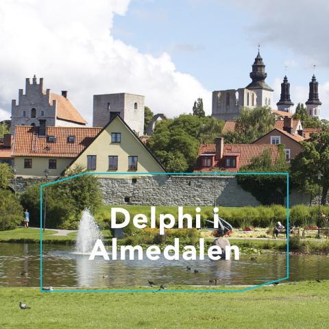 Delphi anordnar seminarium och debatt under Almedalen 2017