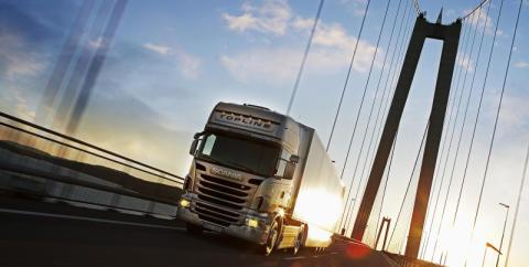 Svenska lastbilar körde 1,5 miljoner mil längre