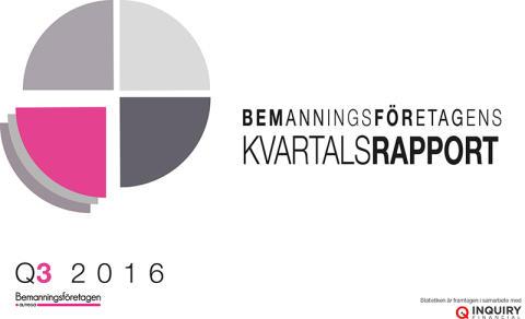 Kvartalsrapport Q3: Bemanningsföretagen stöttar integration och kompetensförsörjning