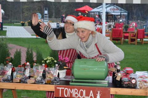 Julmarknad på Åbräddens vårdboende