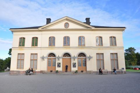 Drottningholms slottsteater.