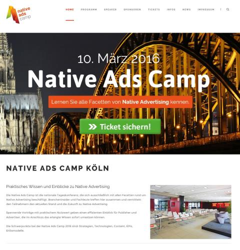 Native Ads Camp Köln 2016
