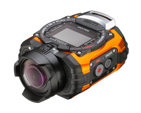 Ricoh WG-1M actionkamera oransje