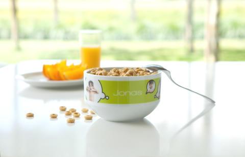 Gör en Frukostskål med din egen bild hos smartphoto