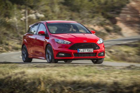 Helt nye Ford Focus ST - nå også i dieselversjon