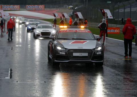 Audi Sport TT Cup Spielberg 2015 start race 2