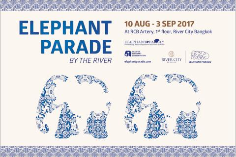 NEW ELEPHANT PARADE ANNOUNCED FOR RIVER CITY BANGKOK