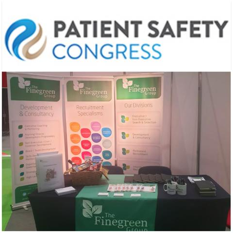 Finegreen at the Patient Safety Congress