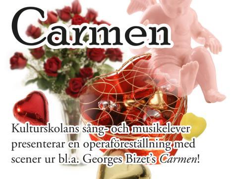 Opera på Kulturskolan i Örebro - Carmen