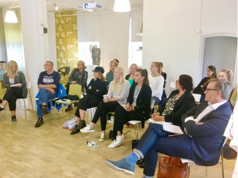 Start-up-möte hos Almedahls 8 september 2017