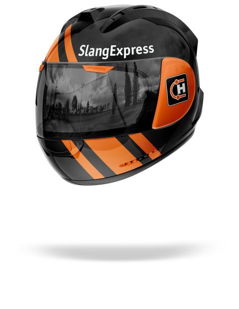 Hjälm-SlangExpress-MC